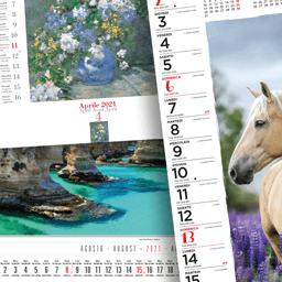 Calendari da Parete Fotografici